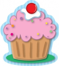 Cupcakes Mini Cut-outs