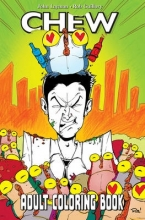 John Layman Chew Adult Coloring Book