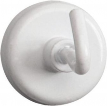 , Magneet met haak MAUL 25mm trekkracht 3kg wit