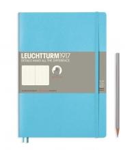 Lt357659 , Leuchtturm notitieboek composition softcover 178x254 mm lijn licht blauw