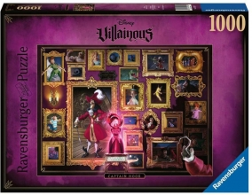 Rav-150229 , Puzzel disney villainous - captain hook  ravensburger - 1000 - 70 x 50