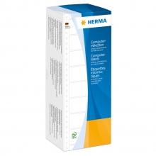, Etiket Herma 8212 101.6x35.7mm 1-baans wit 4000stuks