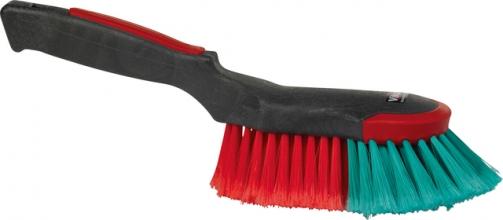 , Handborstel Vikan ergo met rubber stootrand 32cm