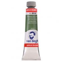 , Talens van gogh acrylverf tube 40 ml chroomoxydgroen 668