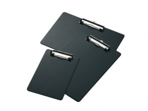 , Klembord LPC A4 staand met kopklem zwart