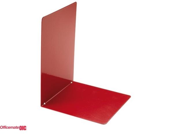 ,Boekensteun Oic 93342 160x120mm rood