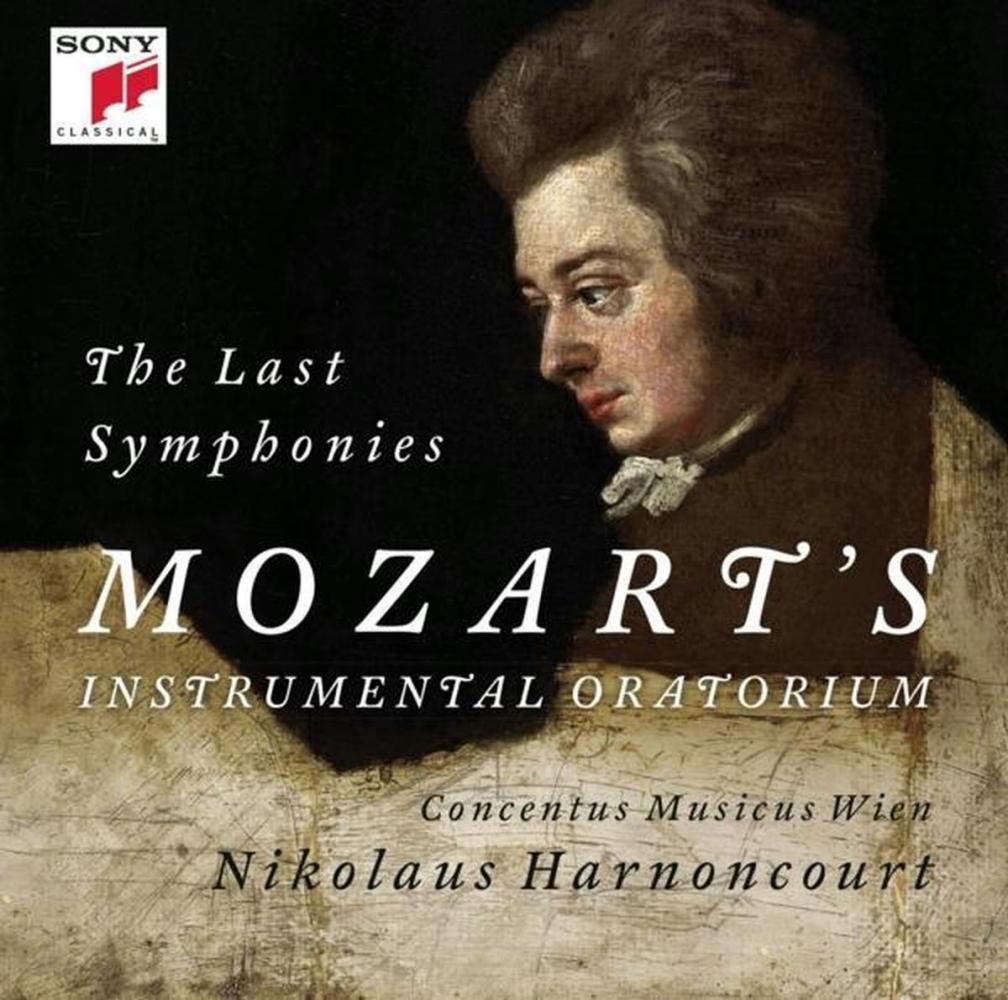 ,Nikolaus Harnoncourt - W.A.Mozart - The Last Symphonies CD