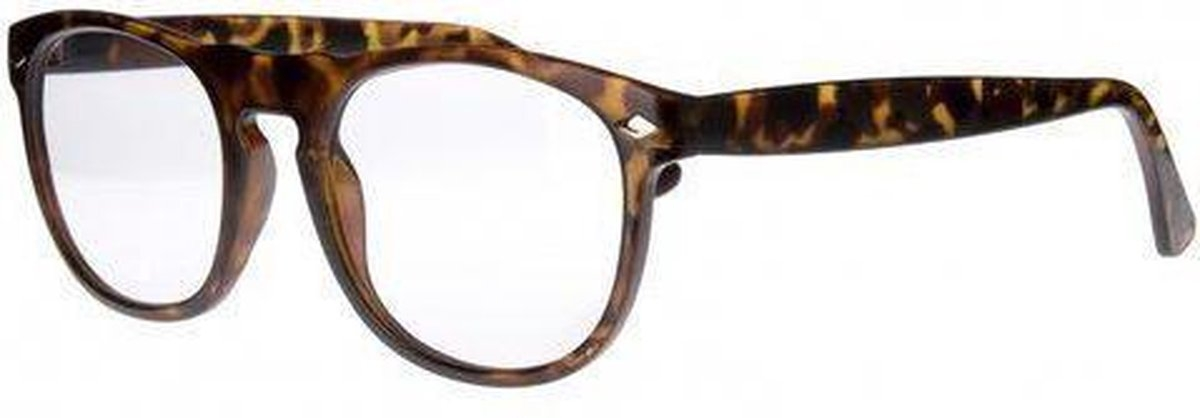 Tcd002,Leesbril icon matt demi, clear lens +3,00