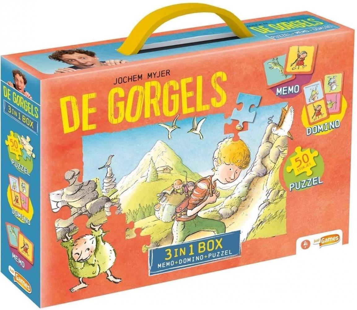,De Gorgels 3 in 1 box