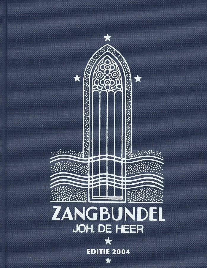 Heer,Zangbundel joh. de heer tekstuitgave 2