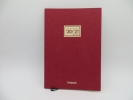 ,<b>Agenda weekly 2020-2021 16 m notebook essenz rood</b>