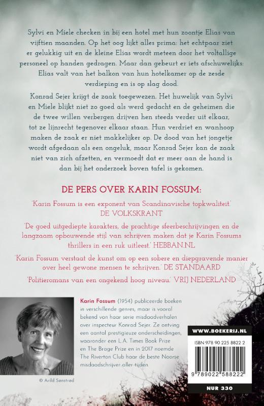 Karin Fossum,De verduistering