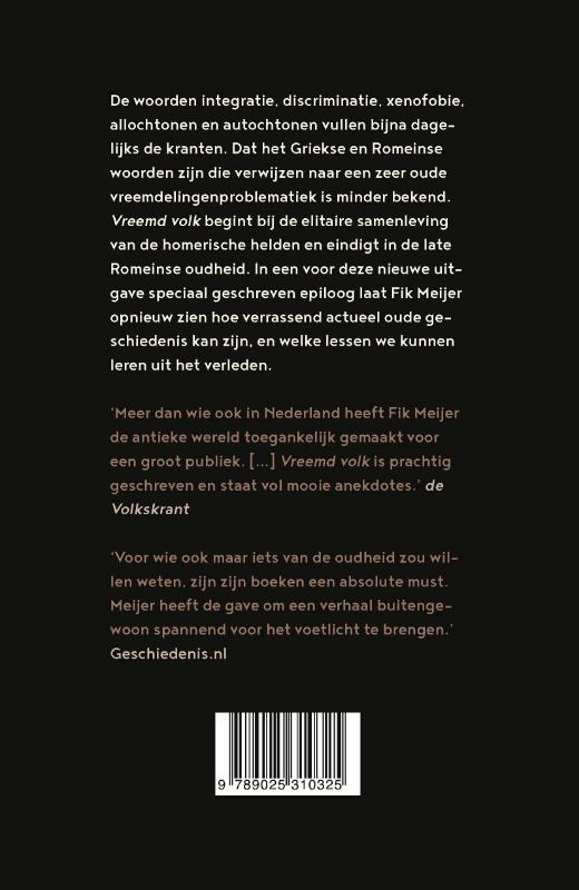 Fik Meijer,Vreemd volk