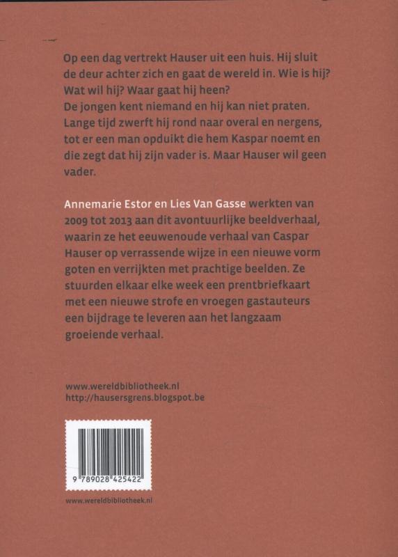 Annemarie Estor, Lies Van Gasse,Het boek Hauser