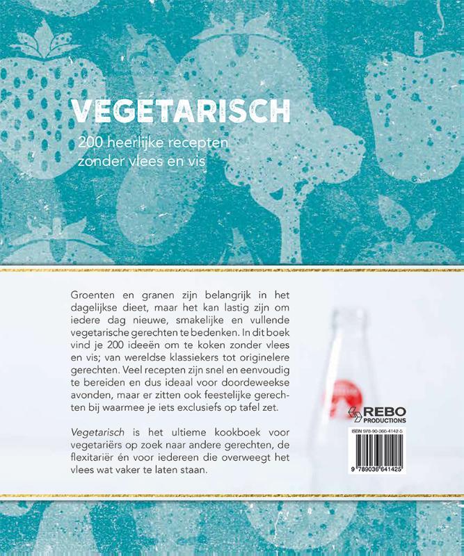 ,Vegetarisch - 200 recepten