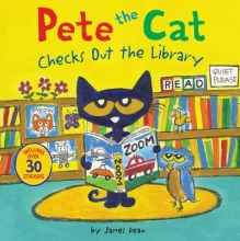 James Dean Pete the Cat Checks Out the Library