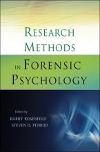 Barry Rosenfeld,   Steven D. Penrod Research Methods in Forensic Psychology