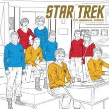 CBS Star Trek: The Original Series Adult Coloring Book