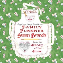 Cal 2017 Susan Branch Family Planner 17 Month