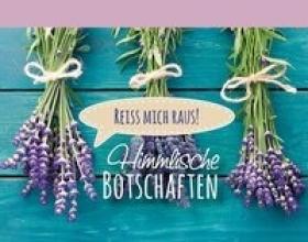 Himmlische Botschaften (Lavendel)