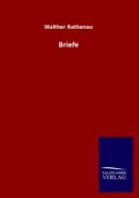 Rathenau, Walther Briefe