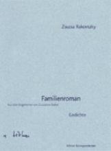 Rakovszky, Zsuzsa Familienroman