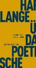 Lange, Hartmut Über das Poetische