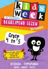 Kidsweek in de klas Het allerleukste begrijpend lezen oefenboek Groep 4 en 5