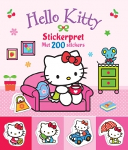 Hello Kitty Stickerpret met 200 stickers