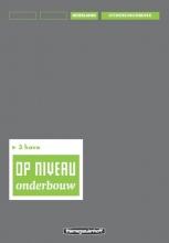 Kraaijeveld Op niveau 3 havo Uitwerkingenboek/Lineair
