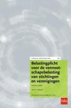 H.J. Bresser , Belastingplicht voor de vennootschapsbelasting van stichtingen en verenigingen