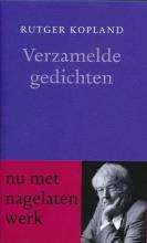 Rutger  Kopland Verzamelde gedichten - Met nagelaten werk - Van Oorschot dundruk