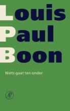 Louis Paul  Boon Niets gaat ten onder