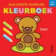 , Mijn eerste woordjes kleurboek 1-3 jaar