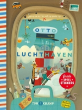 Tom  Schamp Otto in de luchthaven