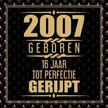 Niek Wigman , 2005 Geboren 16 Jaar Tot Perfectie Gerijpt