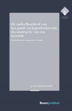 Hans-Jan van Kralingen De ondeelbaarheid van het pand- en hypotheekrecht; deconstructie van een leerstuk