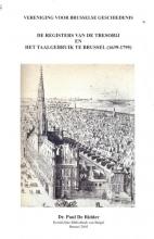 Paul De Ridder , De registers van de tresorij en het taalgebruik te Brussel (1639-1795)