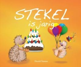 Timmer  Harald Stekel is jarig