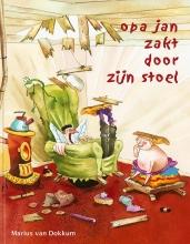 Marius van Dokkum Opa Jan zakt door zijn stoel