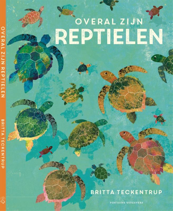 Britta Teckentrup,Overal zijn reptielen