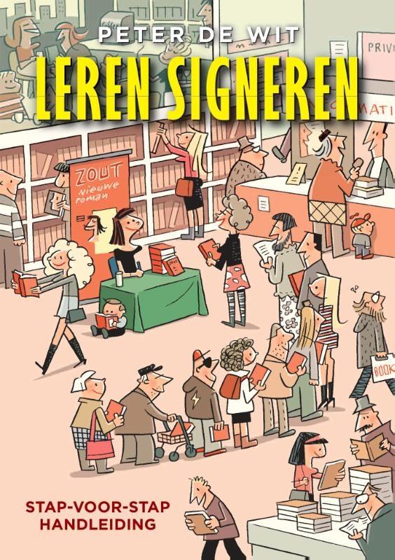 Peter de Wit,Leren signeren