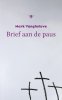 <b>Mark  Vangheluwe</b>,BRIEF AAN DE PAUS