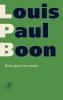Louis Paul Boon,Niets gaat ten onder