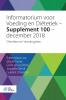 ,Informatorium voor Voeding en Di?tetiek - Supplement 100 - december 2018