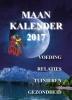 <b>Marjanne  Hess-van Klaveren</b>,Maanscheurkalender 2017