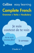 Collins Dictionaries Easy Learning French Complete Grammar, Verbs and Vocabulary