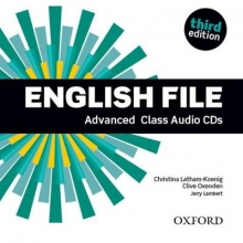 Oxenden, Clive English File: Advanced. Class Audio CDs