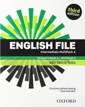 English File: Intermediate: Students Book with Osp Multipack a 19 Pack