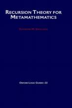 Raymond M. Smullyan Recursion Theory for Metamathematics